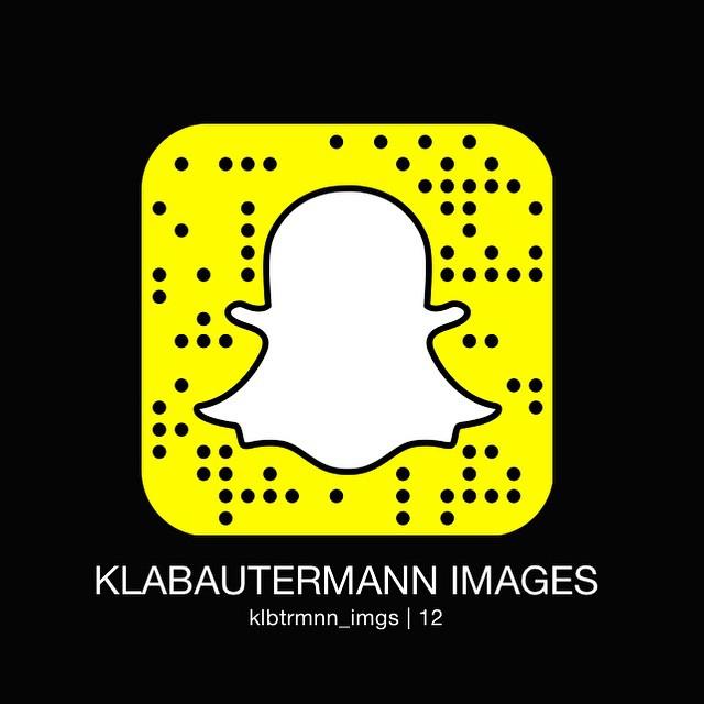 Folgt uns auf Snapchat, demnächst geht's los mit dem